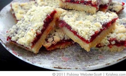 Lemon-Raspberry Squares Recipes — Dishmaps