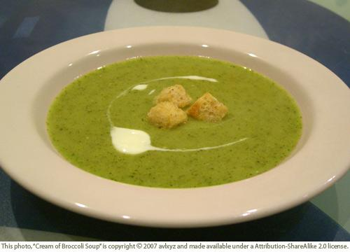 Cream of Broccoli Soup with Cheese . Cream of Broccoli Soup Slow ...