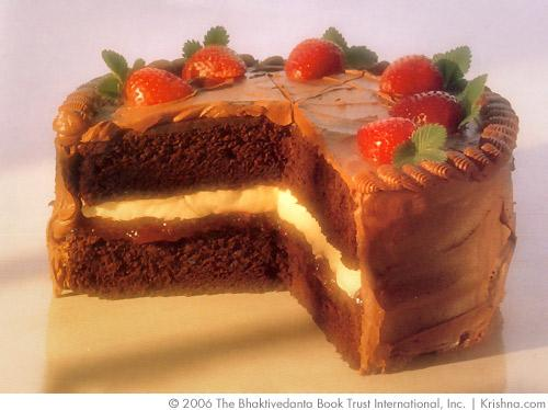 Carob fudge cake food krishna carob fudge cake forumfinder Image collections