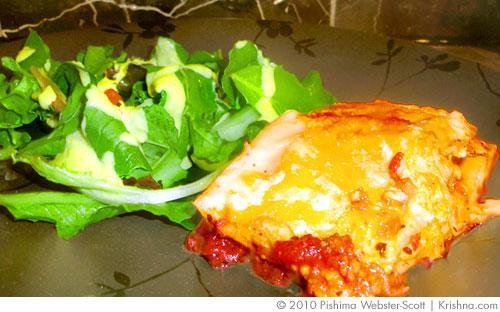 Kurma's Vegetarian Lasagna